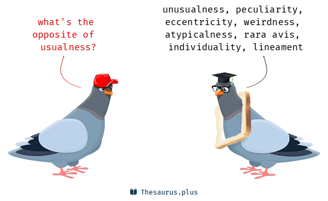 Antonyms for usualness