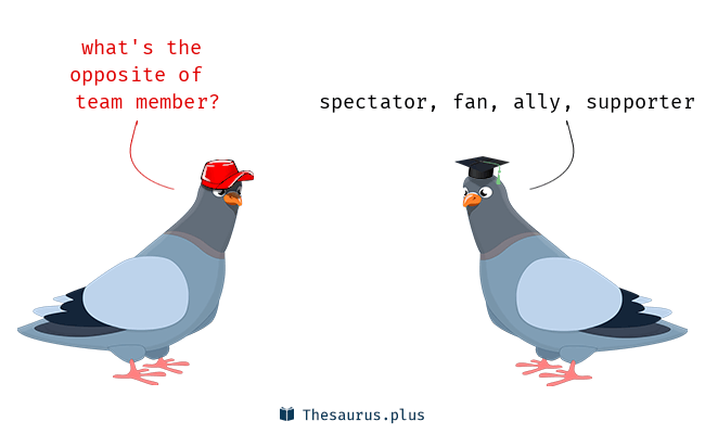 Team member Synonyms and Team member Antonyms. Similar and ...