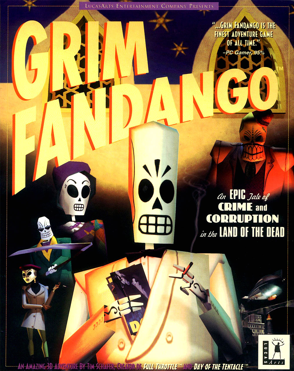 Video Game / Grim Fandango