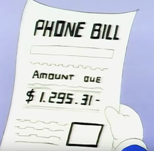 Shockingly Expensive Bill