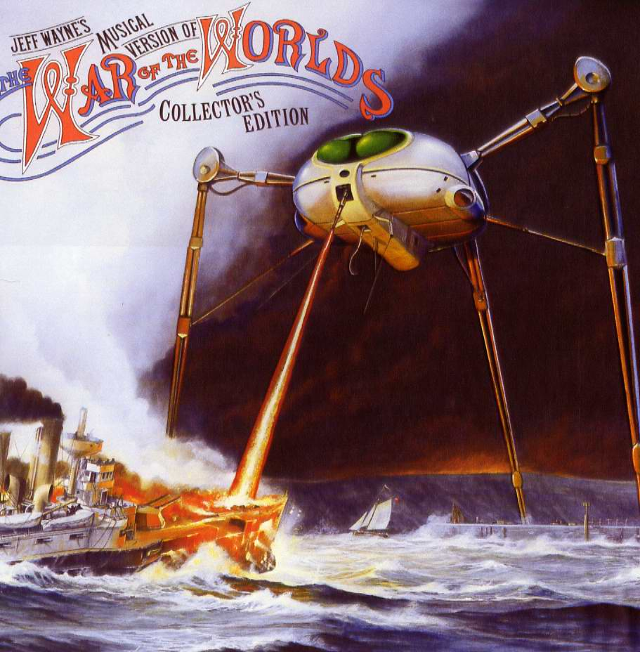 Music / Jeff Wayne's Musical Version of The War of the Worlds