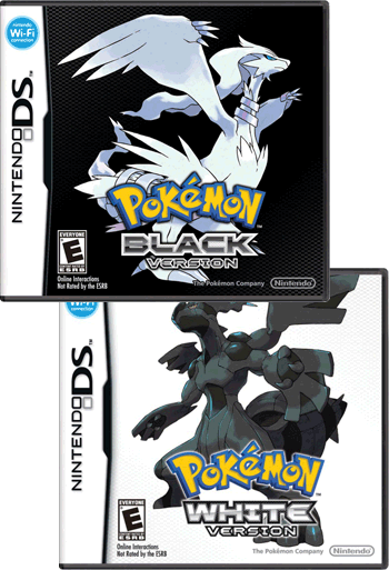 Video Game / Pokémon Black and White