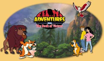 Western Animation / Adventures from the Book of Virtues