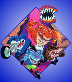 Western Animation / Street Sharks