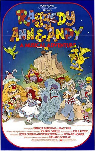 Westernanimation / Raggedy Ann & Andy: A Musical Adventure