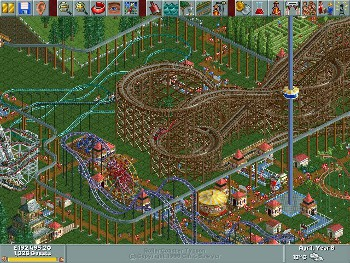 Video Game / RollerCoaster Tycoon