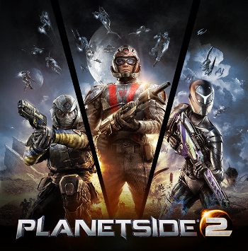 Video Game / PlanetSide