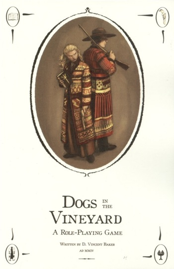 Tabletop Game / Dogs in the Vineyard