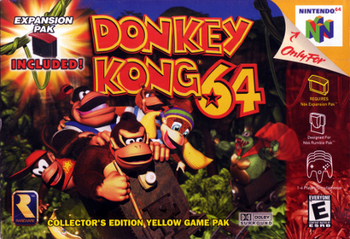 Video Game / Donkey Kong 64