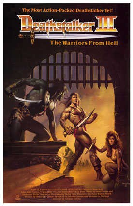 Film / Deathstalker and the Warriors from Hell
