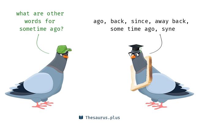Back meaning sometime Sit back