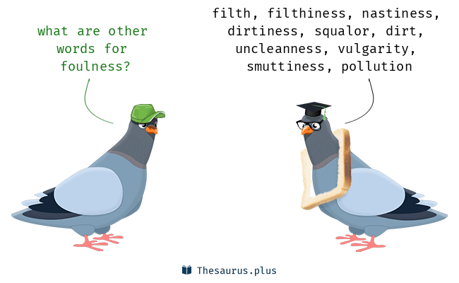 Synonyms for foulness