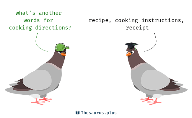 3 Cooking Directions Synonyms Similar Words For Cooking Directions