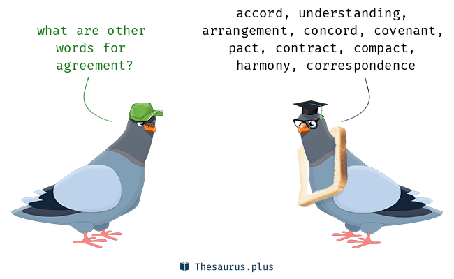 Synonyms for agreement