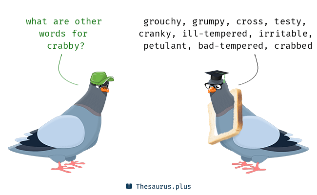Synonyms for crabby