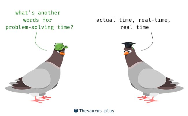 thesaurus problem solving