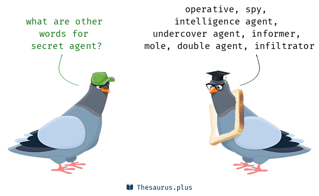 Synonyms for secret agent
