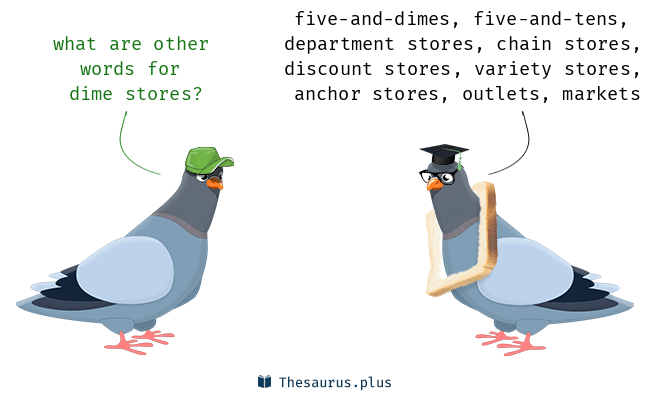 Synonyms For Dime Stores