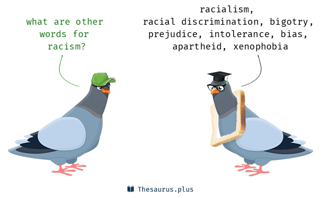 Synonyms for racism