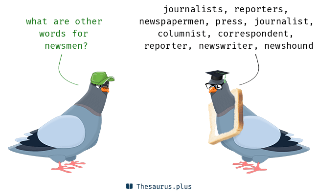 Synonyms for newsmen