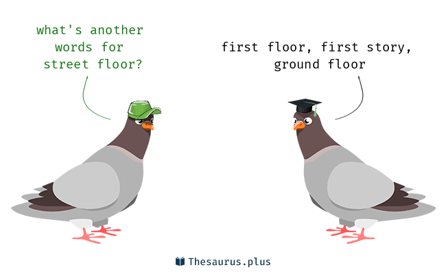 3 Street floor Synonyms. Similar words
