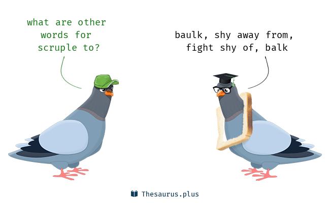 Shy away synonym