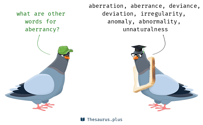Synonyms for aberrancy