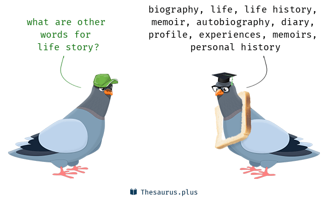 autobiography synonym