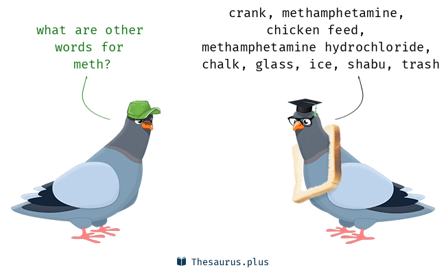 Synonyms for meth