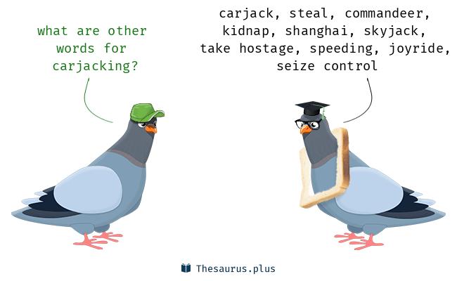 Words Carjack And Carjacking Have Similar Meaning
