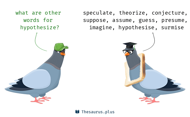 words hypothesize and presume have similar meaning