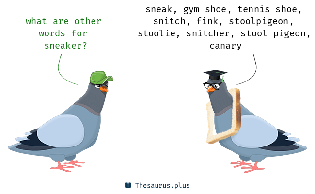 Synonyms for sneaker