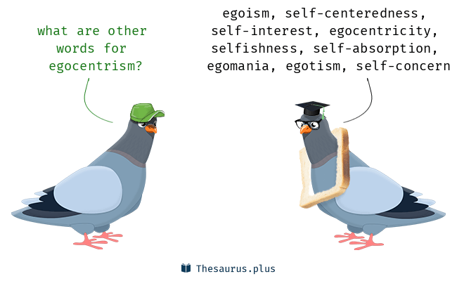 Words Egocentrism And Self Sufficiency Are Semantically Related Or