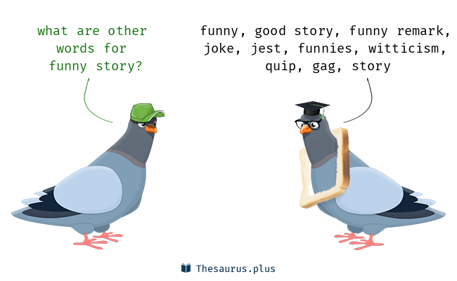 Synonyms for funny story