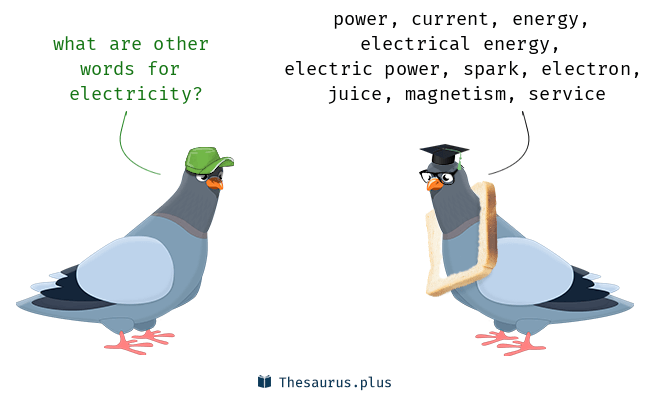 Synonyms For Electricity