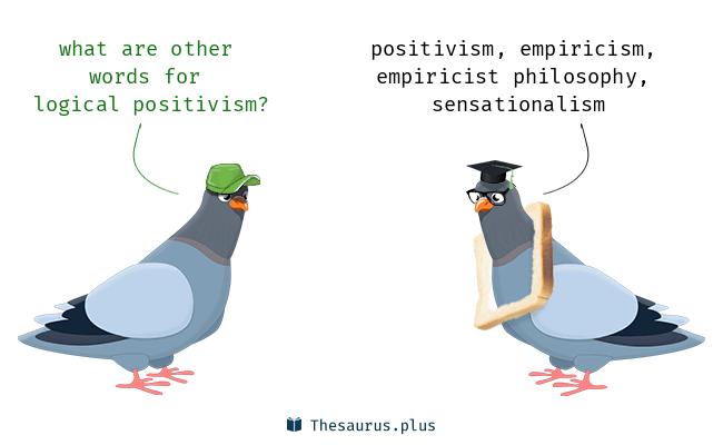 4 Logical positivism Synonyms. Similar words for Logical positivism.