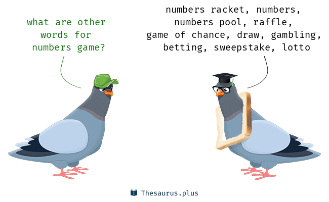 What is the meaning of Its a numbers game