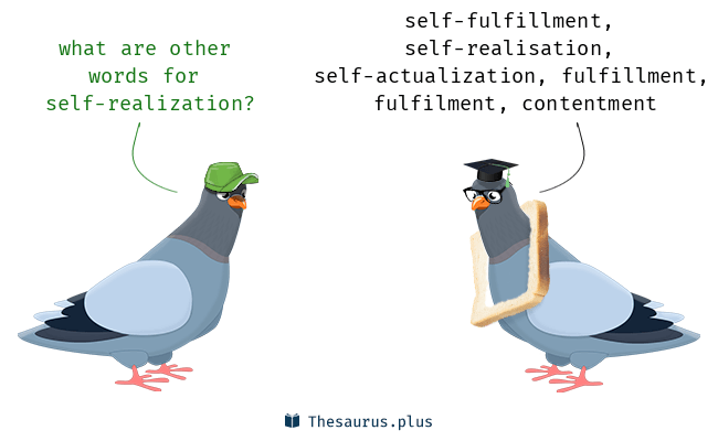 45 Self-realization Synonyms  Similar words for Self