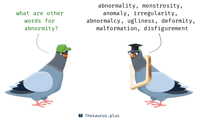 Synonyms for abnormity