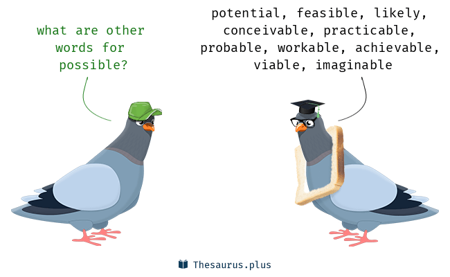 Synonyms for possible