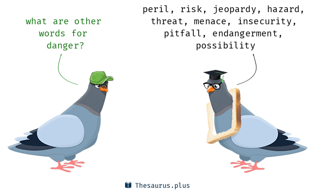 Synonyms for danger
