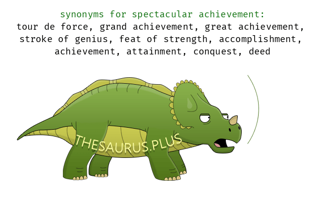 another word for achievements