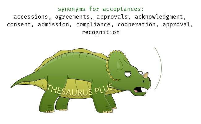 Words Acceptances And Remonstrances Are Semantically Related Or Have