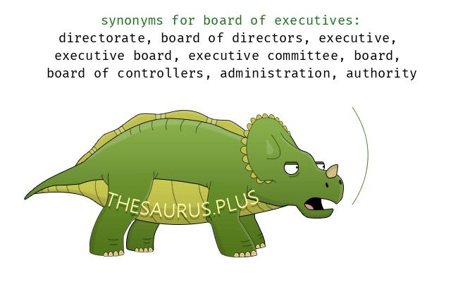 Similar Words Of Board Executives