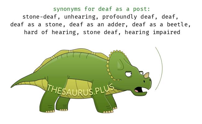 deaf as a