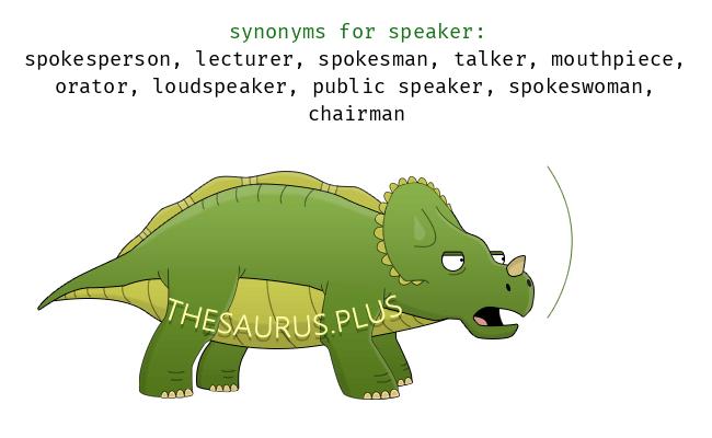 More 10 Speaker Synonyms. Similar words for Speaker.