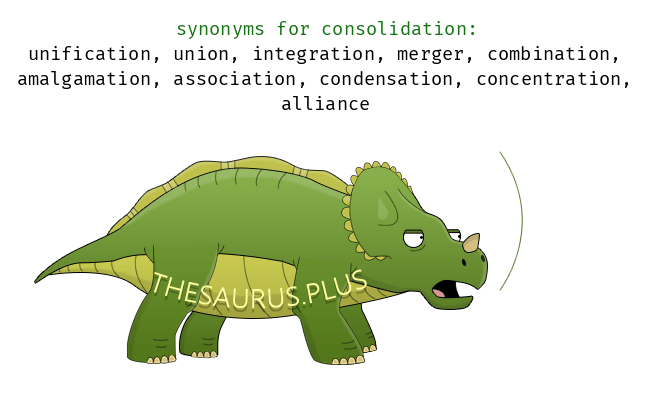 Consolidating synonym