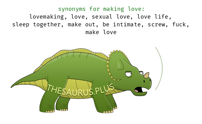 Similar Words Of Making Love
