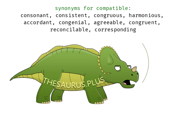 Similar words of compatible